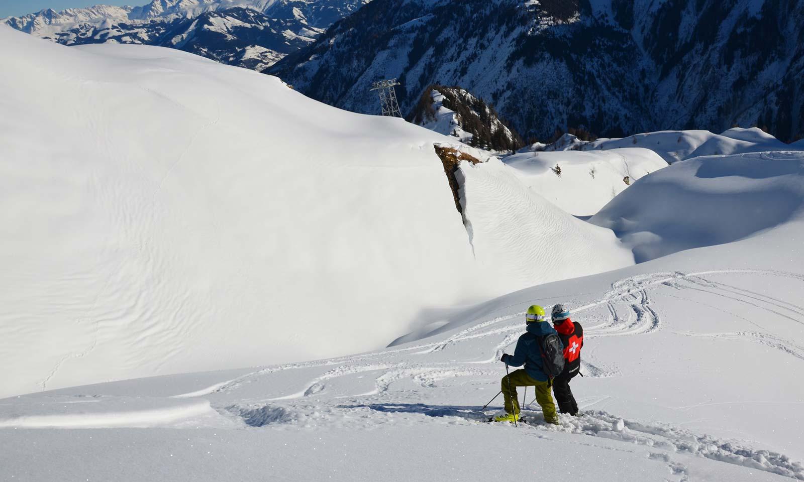 Risikomanagement für Skigebiete, Schneemäuler   LO.LA Alpine Safety Management