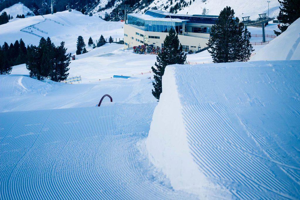 Referenz Skigebiet Obergurgl-Hochgurgl, Quattro Snowpark | LO.LA Alpine Safety Management