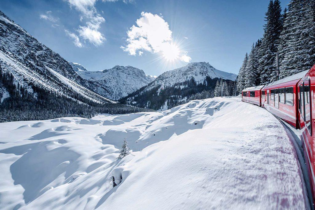 Referenz Rhätische Bahn, Arosa (Bild: © Rhätische Bahn AG) | LO.LA Alpine Safety Management