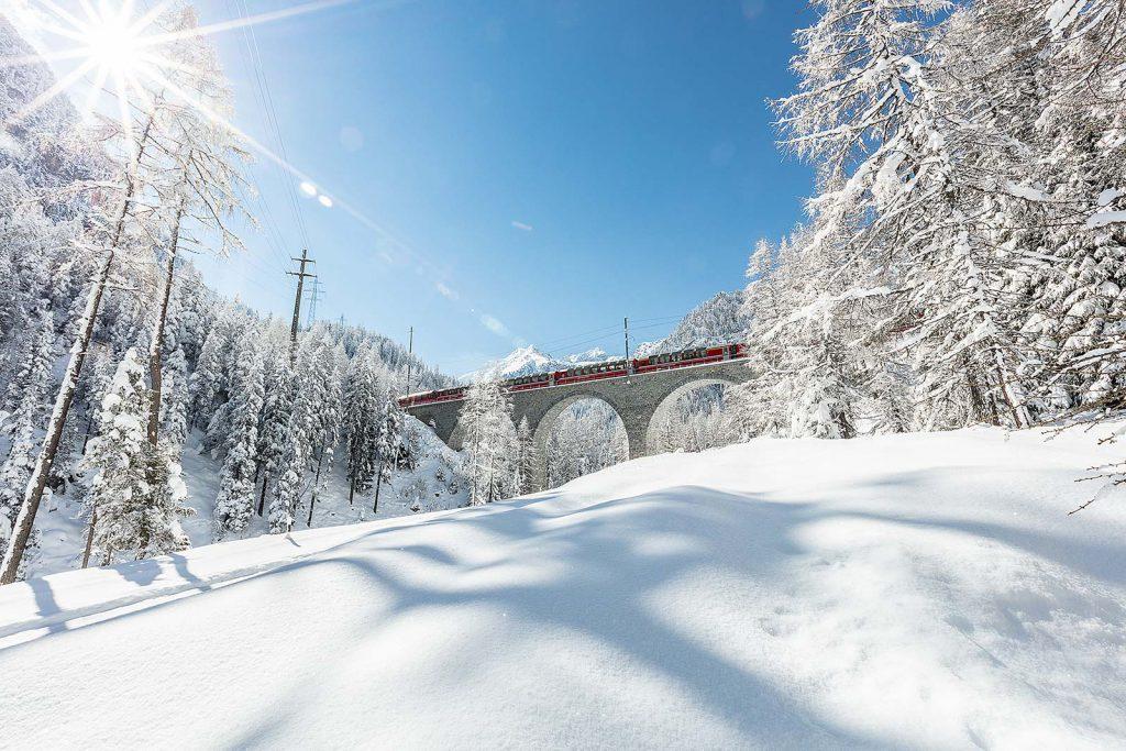 Referenz Rhätische Bahn (Bild: © Rhätische Bahn AG) | LO.LA Alpine Safety Management