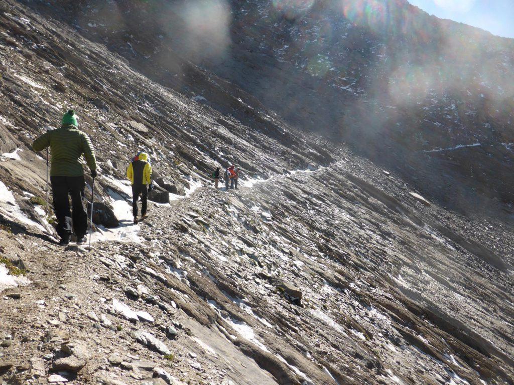 … und wird bei Regen und Nässe noch verstärkt. Die Frage ist nur, welches Schutzziel hier wie erreicht werden kann. Foto: Land Tirol