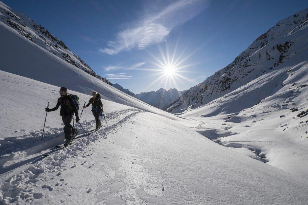 Skitour zur Winnebachseehuette, Stubaier Alpen, Tirol, © Ötztal Tourismus, Photograf Bernd Ritschel I LO.LA Alpine Safety Management