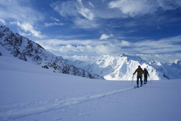 Skitour auf die Finstertaler Scharte, © Ötztal Tourismus, Photograf Bernd Ritschel I LO.LA Alpine Safety Management