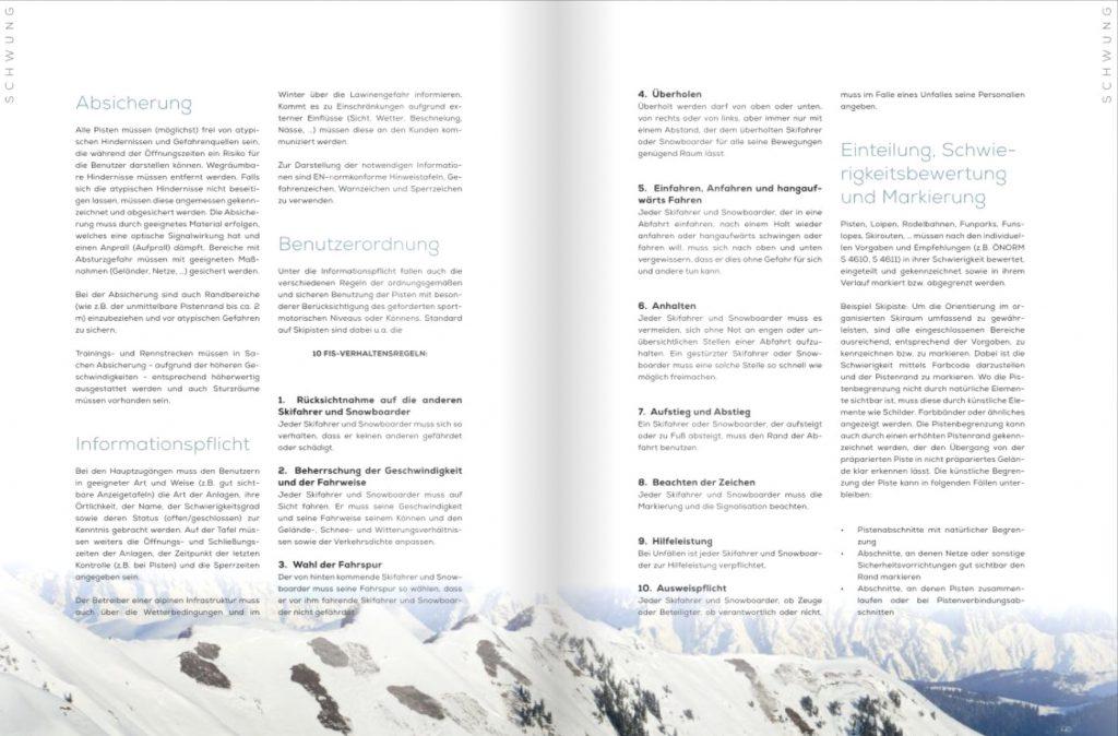 LO.LA Beitrag in Skilehrermagazin Schwung