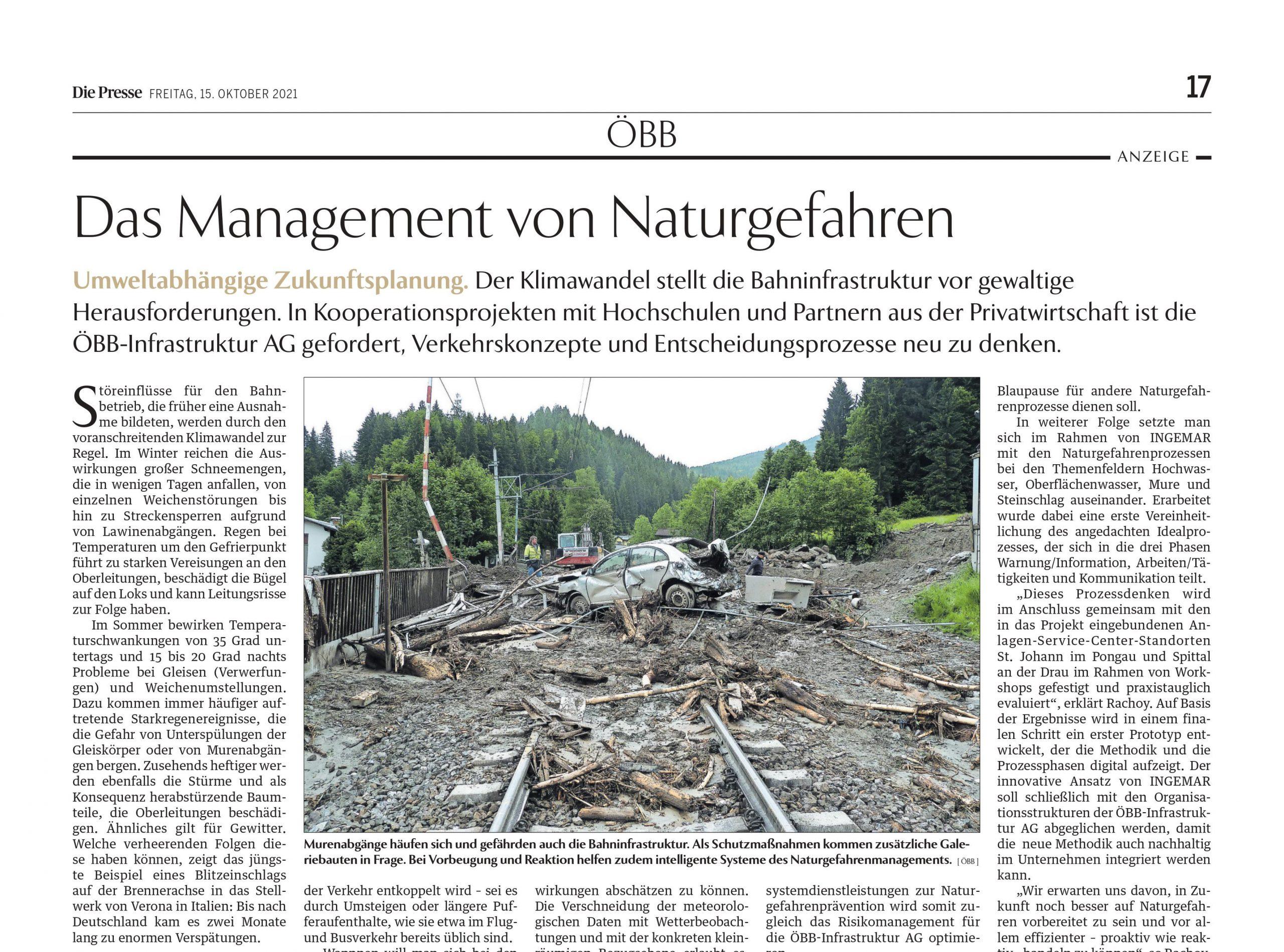 DiePresse_20211015_Naturgefahrenmanagement_OEBB_Ausschnitt